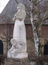 Beeld van Charles Vos in Hoensbroek