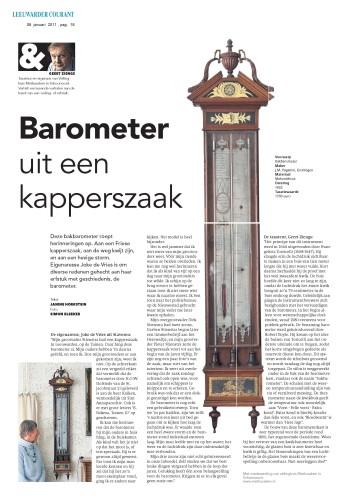 artikel in Leeuwarder Courant