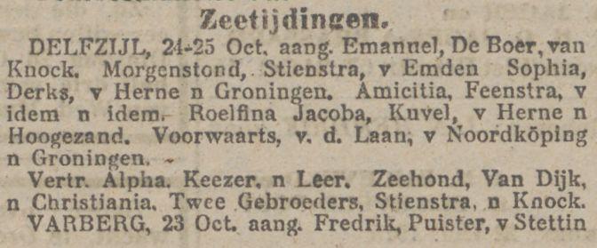 Nieuwsblad van het Noorden 25-10-1915