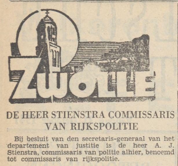 Provinciale Overijsselsche en Zwolsche courant : staats-, handels-, nieuws- en advertentieblad 31-10-1941